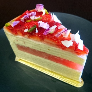 Strawberry Watermelon Mille Crepe
